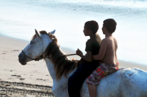 Nicaragua Freiwilligenarbeit: Strand von Las Penitas DeeperTravel