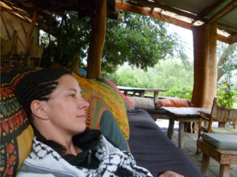 Chillen in Kenia