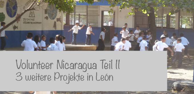 Volunteer Nicaragua Leon2