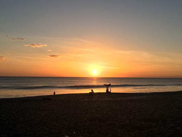 Sunset Las Peñitas