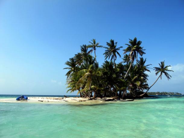 Segelboot wohnen Strand