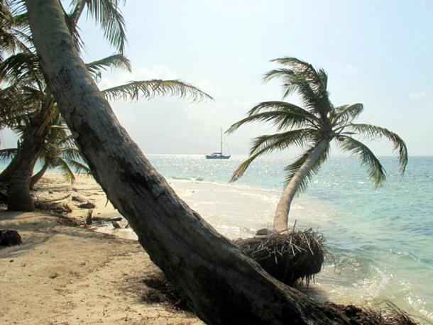 Segelboot wohnen Insel