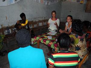 Kinder im Kongo Tätigkeiten