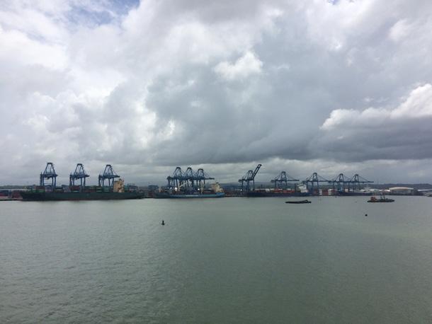 Nachhaltigkeit Kreuzfahrt Hafen