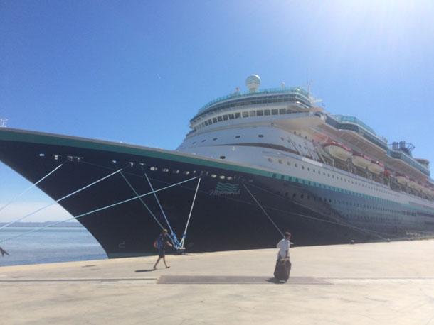 Nachhaltigkeit Kreuzfahrt Schiff Monarch